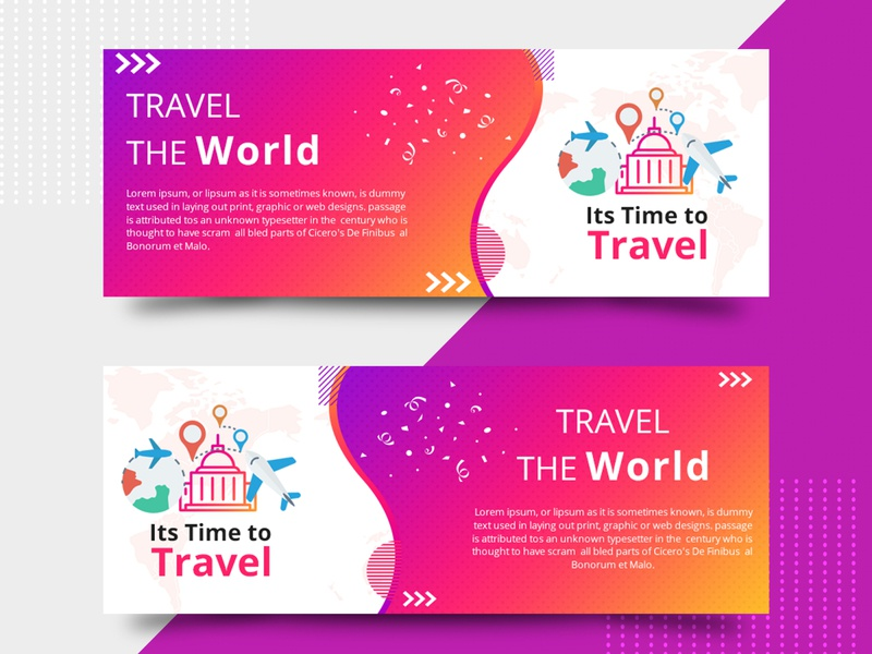 Tour and Tourism Social Media Banner Template
