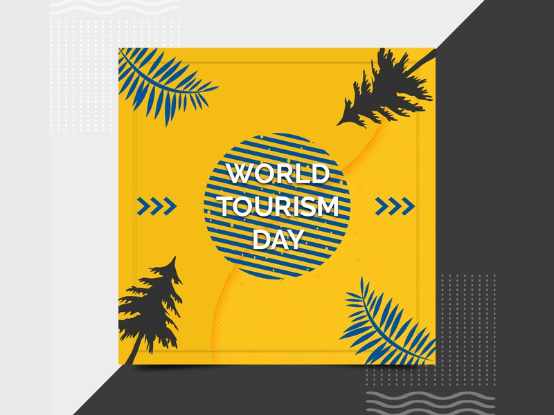 World Tourism Day Social Media Banner Template