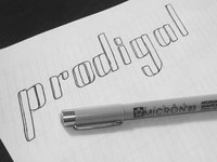 Prodigal Logo Lettering