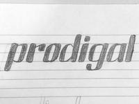Prodigal Logo Lettering 2