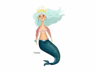 Tattooed Mermaid