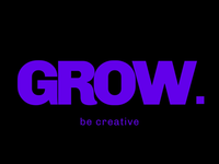 "Logo for ""GROW"" company"