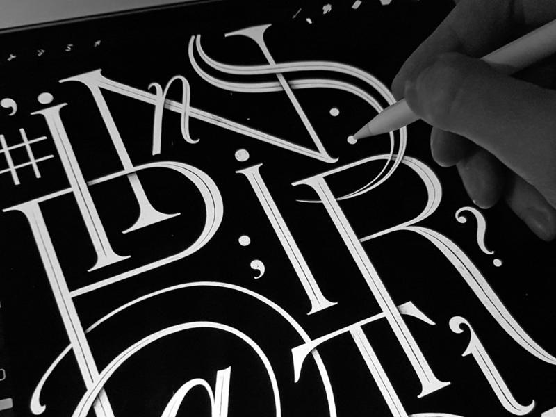 Inspiration letterforms procreate ipad handmade custom lettering handlettering logotype hand lettering type logo calligraphy lettering typography
