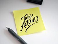 Sticky notes thoughts sketch custom lettering handlettering logotype hand lettering type logo calligraphy lettering typography