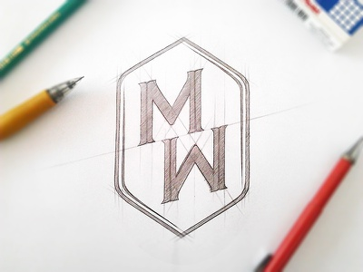 Personal Identity logo logotype logopack sketch project concept personal identity branding idea sketching