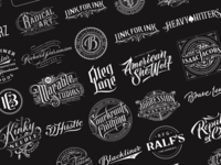 Handlettered Logotypes Vol. 5