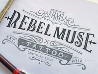 Rebel Muse Tattoo