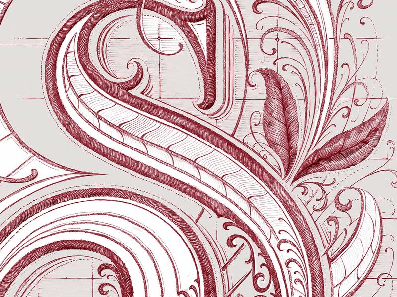 Details design custom lettering drawing sketch vintage hand lettering calligraphy lettering typography