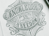 Knowledge is freedom