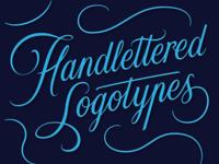 Handlettered logotypes 6