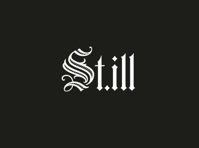 St.Ill Skateboard custom lettering branding handlettering vintage logotype hand lettering type logo calligraphy lettering typography