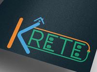 Krete-logo & brand identity design