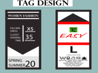 Product Tag Design