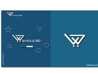 WHOLE BD-Logo design