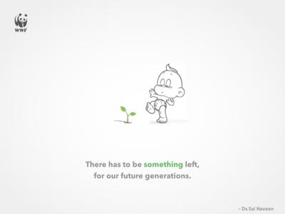 SAVE TREES - SAVE EARTH (WWF)