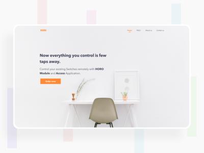 HORO - Smart Assist - Homepage