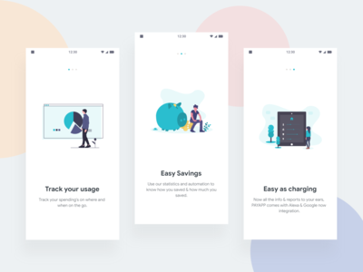 Payments App - Onboard Screens