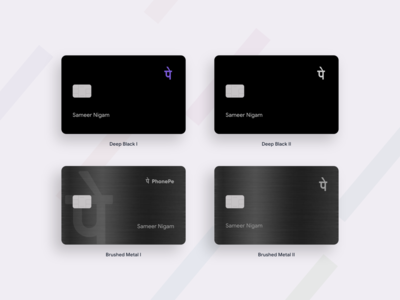 PhonePe Credit Card Concept