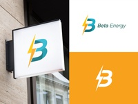 Beta Energy vector app logos graphic branding logo illustration icon design