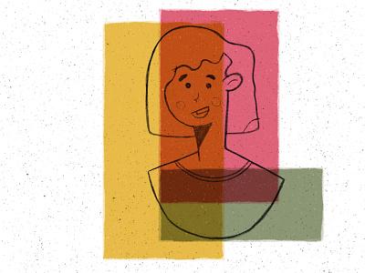 Colorful Inside color palette color procreate art procreateapp character procreate design flat illustration