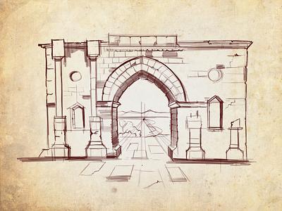iPad Sketch design illustration paper texture sketch ipadpro ipadproart ipad procreate