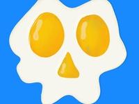 Fried Skull egg