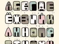 Kids alphabet poster