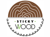 Logo for Sticky Wood