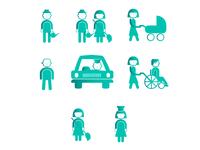 "Icons for ""Domashnij Ujut"" site"