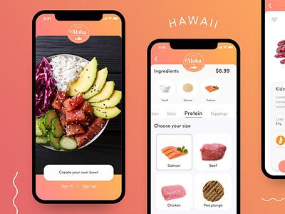 Food ordering App ui app design logo design concept ux design ux food