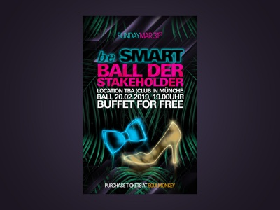 Stakeholder Party (ball) Invitation Card invitation party flyer illustration