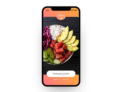 Food App design ui-design food ios ux design uidesign app