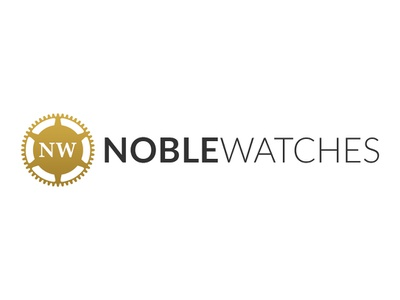 Logo Design for Noble Watches luxury watches fashion logo typography branding