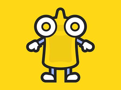 Mustard Martian mascot design mascot mustard brand design logo design logo character character design illustration