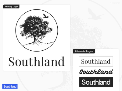 Southland Logo Touchup clothing line brand identity brand design logo design logodesign
