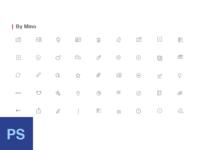 Iconkit kit note icon psd