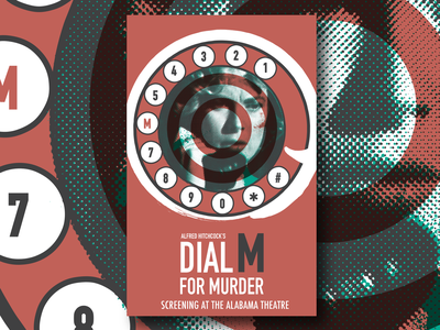 Dial M For Murder Thumb hitchcock poster design