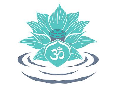Lotus Flower lotus flower branding vector illustration