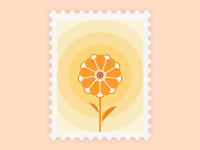 Marigold Stamp