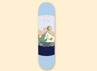 Mountain Skateboard
