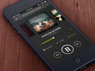 Music Player / Radio Station