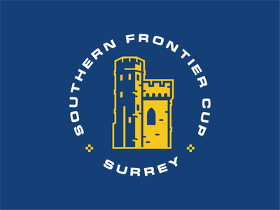 Southern Frontier Cup branding event branding event logo football soccer