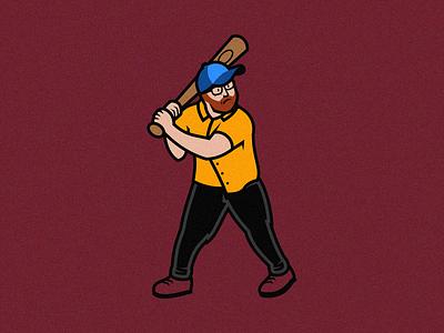Swingin' Mike Update logo baseball me personal