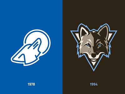 Denver Coyotes Rebrand brown coyote denver logo design branding baseball