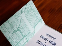 Y2Kasnic Wedding Invitation - Chicago Guidebook