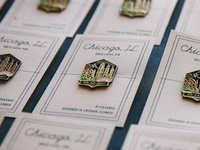 Y2Kasnic Wedding Lapel Pins