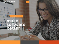 Design & adaptive website for IT software development company