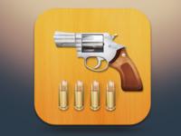 IOS pistol icon