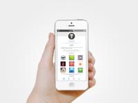 Profile ui in iphone