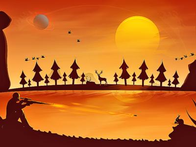 Hunter  studios gamelyu arslan pakistan illustration hunter